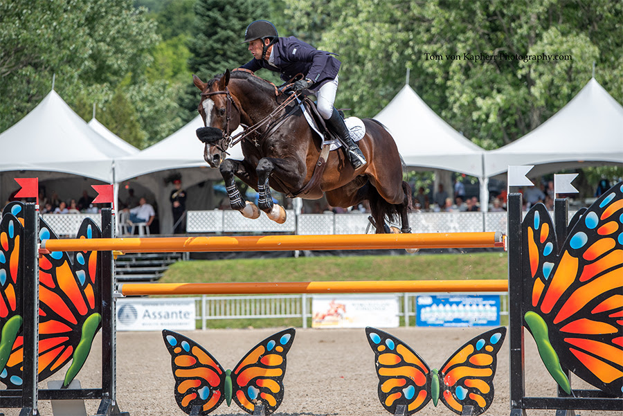 Jonathan McCrea ressort triomphant à l'International Bromont
